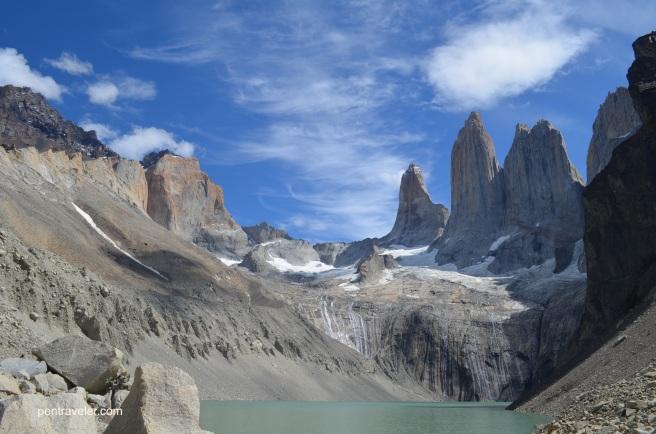 Torres del Paine Mirador, Base del Torres