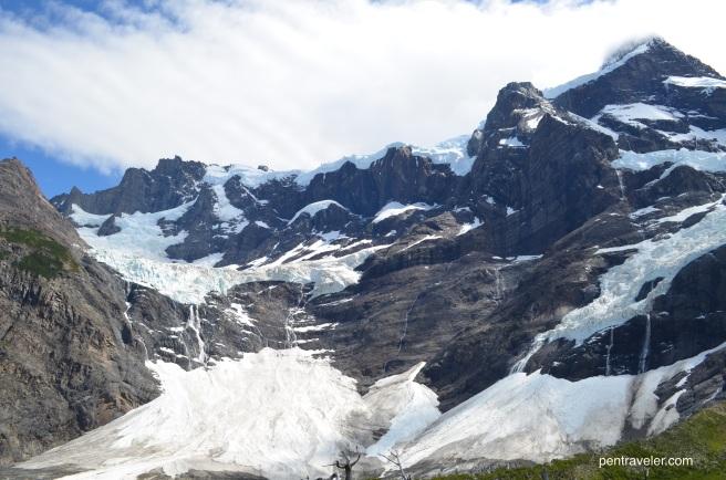 Torres del Paine Frances Glacier