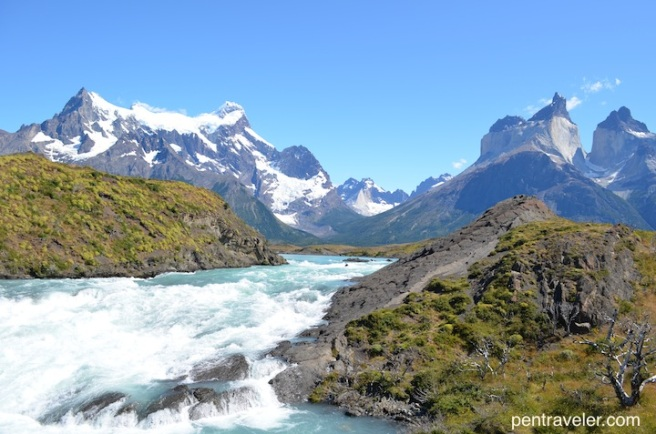 Waterfall_View Salto Grande Torres del Paine National Park