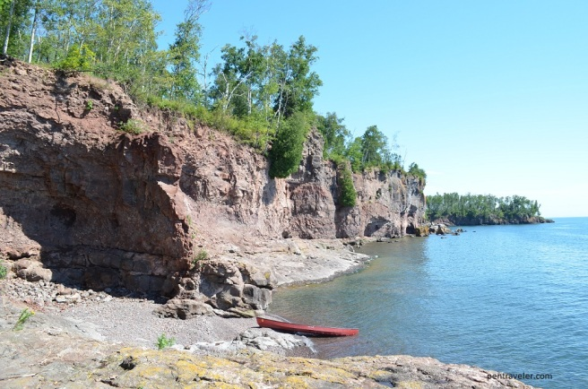 Canoeing Lake Superior