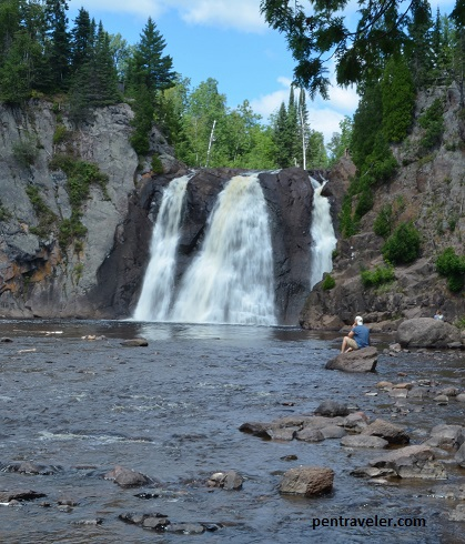 High Falls at Tettegouche State Park
