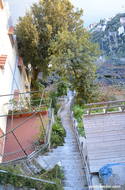 Stairs in Amalfi