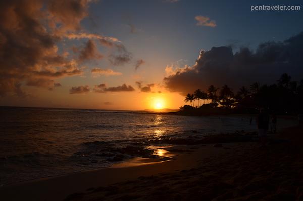 Kauai Poipu sunset